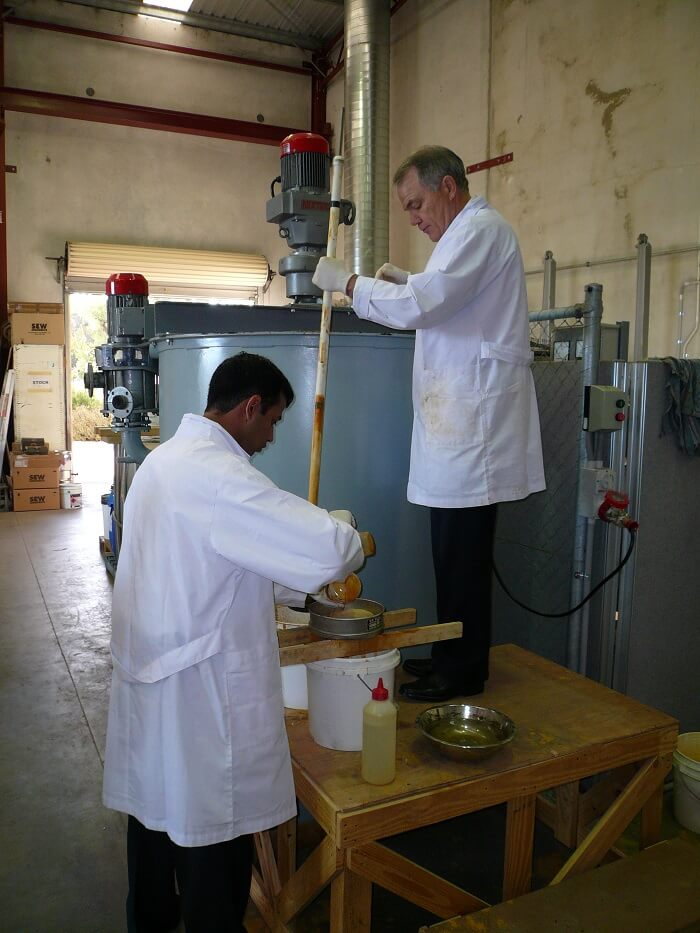 Mixtec Laboratory Test Work